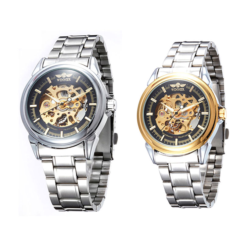 Stylish 88 Store Stainless Steel Men's Watch Fully Automatic Mechanical Watches High Quality LXH