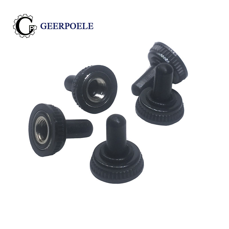 5 Pcs/lot M6 Toggle Waterproof Cover Connectors Rocker Toggle Switch Rubber Sleeve Cap MTS 102 103 202 203 Cap