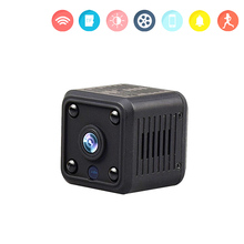 Mini WiFi Camera Home Security Surveillance 1080P Video Wi Fi IP Cam Infrared Night Vision 720P Pet Baby Smart USB Wi-Fi Camera ec60 wifi ip camera 1080p hd outdoor camera waterproof infrared night vision security video surveillance smart