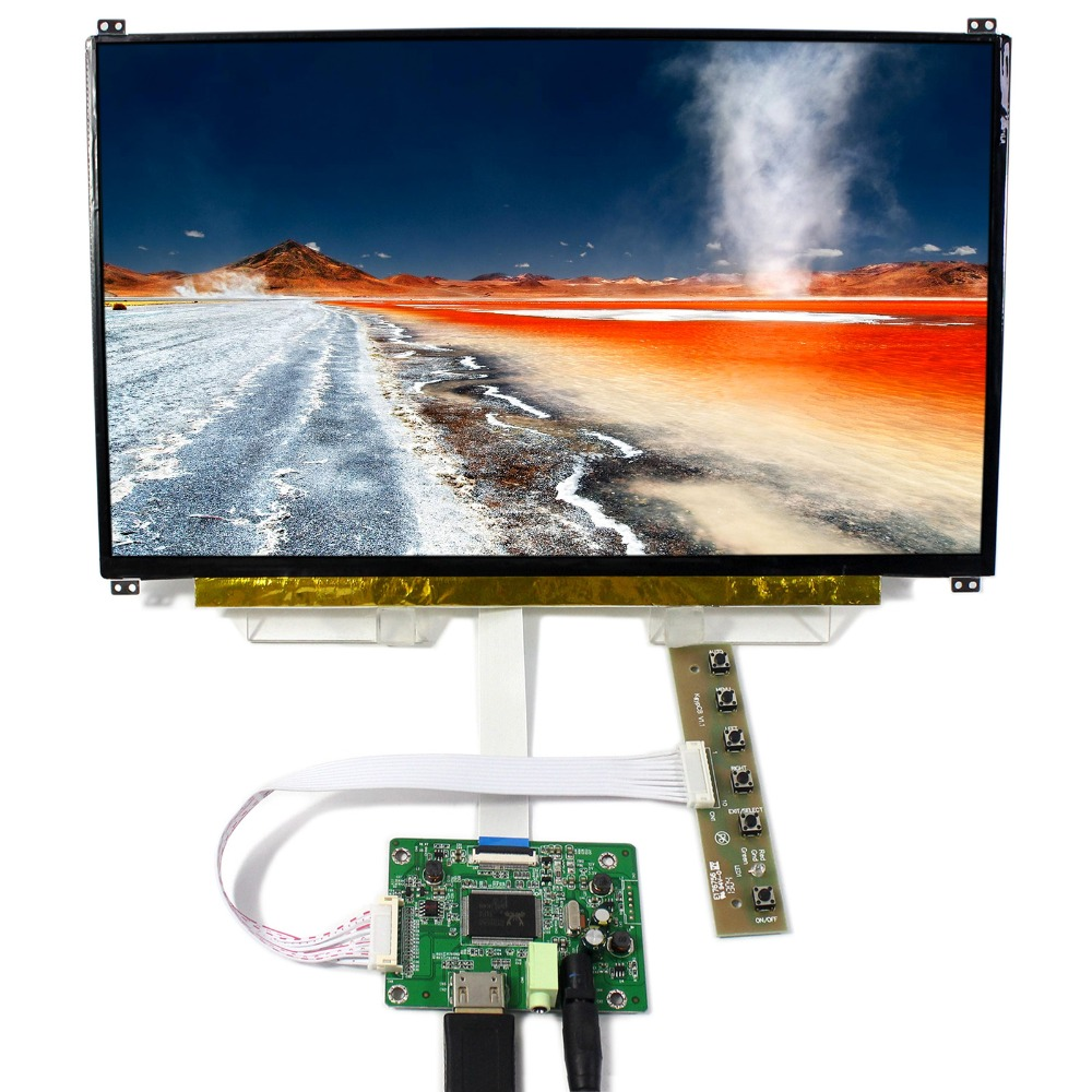 HDMI LCD Controller Board With 13 3inch 1920x1080 N133HSE EDP IPS LCD Screen