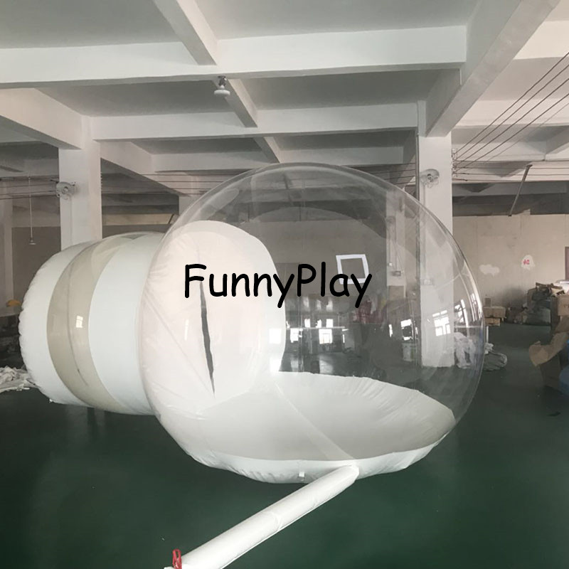4-6m Diameter Inflatable Clear Camping Tent, Beach Tents,transparent Bubble Tents,ultralight Inflatable Bubble Lodge Hiking Tent