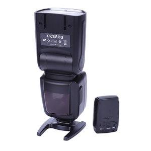 Image 1 - FK380G Flash dla Canon EOS aparat cyfrowy, EOS fartuch aparatu, aparatu cyfrowego Nikon z bezprzewodowym Flasher