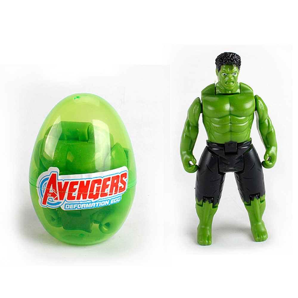 Filmes marvel figuras vingadores super herói capitão américa hulk thor homem de ferro figuras de ação deformação brinquedos presente das crianças