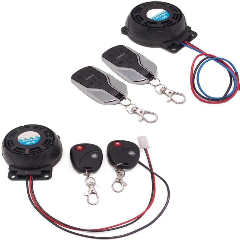 12В мотоциклетная сигнализация универсальная мотоциклетная охранная сигнализация двойная Дистанционная сигнализация для мотоциклетного ...
