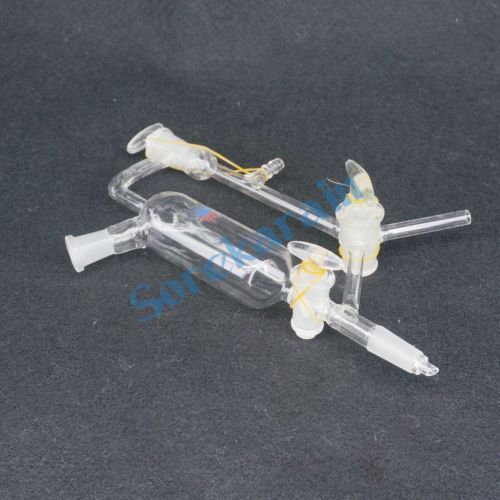 14/23 Female x 14/23 Male Joint Glass Vacuum Distillation Receiver Lab Ware