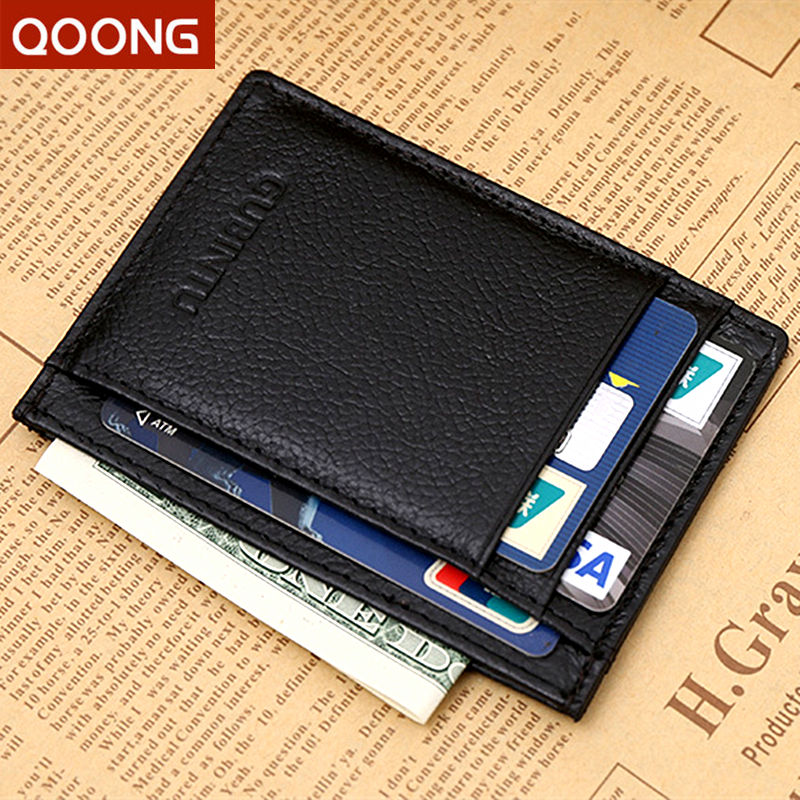 100% Genuine Leather Small Mini Ultra-thin Wallets Men Women Compact Handmade Wallet Cowhide Card Holder Coin Purse 115# vintage designer men genuine cowhide leather wallet male short coin purse card holder small wallet mini photo holder removeable