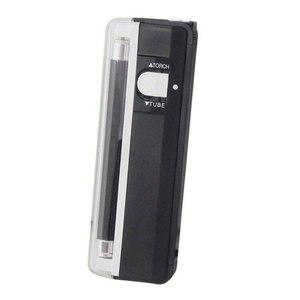 Image 3 - הכי חדש 2 In1 כף יד UV משולב Led אור לפיד מנורת שימושי שטרות גלאי מטבע מזויף כסף גלאי