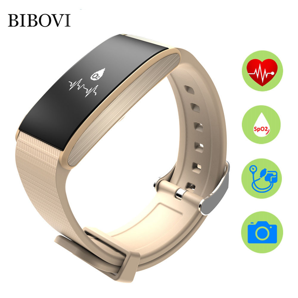 imágenes para 2017 A58 BIBOVI Nueva Banda Inteligente control de La presión Arterial de oxígeno En La Sangre Saludable ritmo cardíaco deporte bralcet reloj Para iOS Android