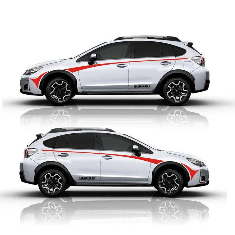 TAIYAO car styling sport autocollant de voiture Pour Subaru XV Vue Mark Levinson voiture accessoires et stickers auto autocollant