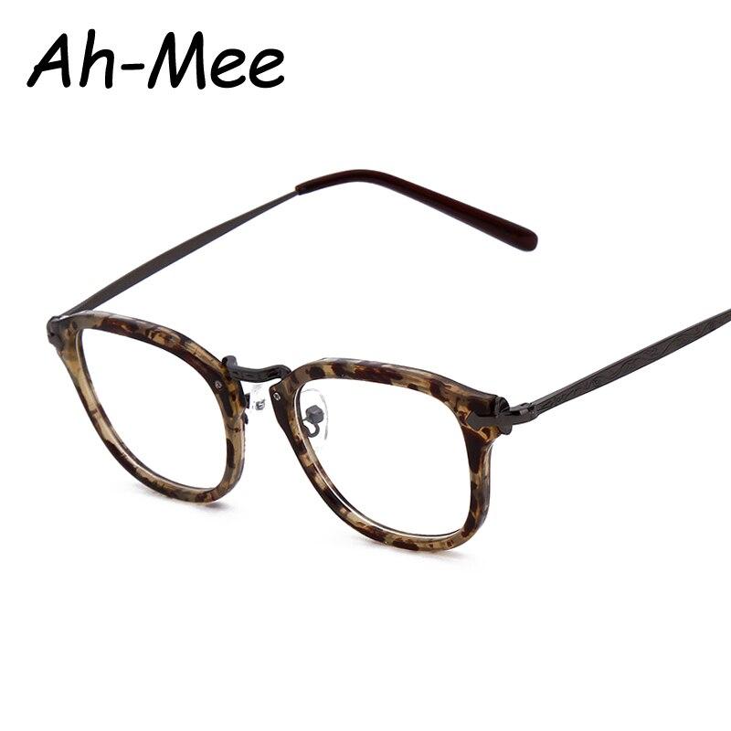 Mulheres óculos de Nerd quadro quadrado Eyewear vidros Ópticos Armações de  Óculos Homens Designer de Marca Do Vintage print Floral Liga Pernas e0f4ba0525