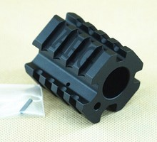 Ar15.750 Quadrail Clamp On Gas Block Low Profile Hunting Gun Accessory free shipping