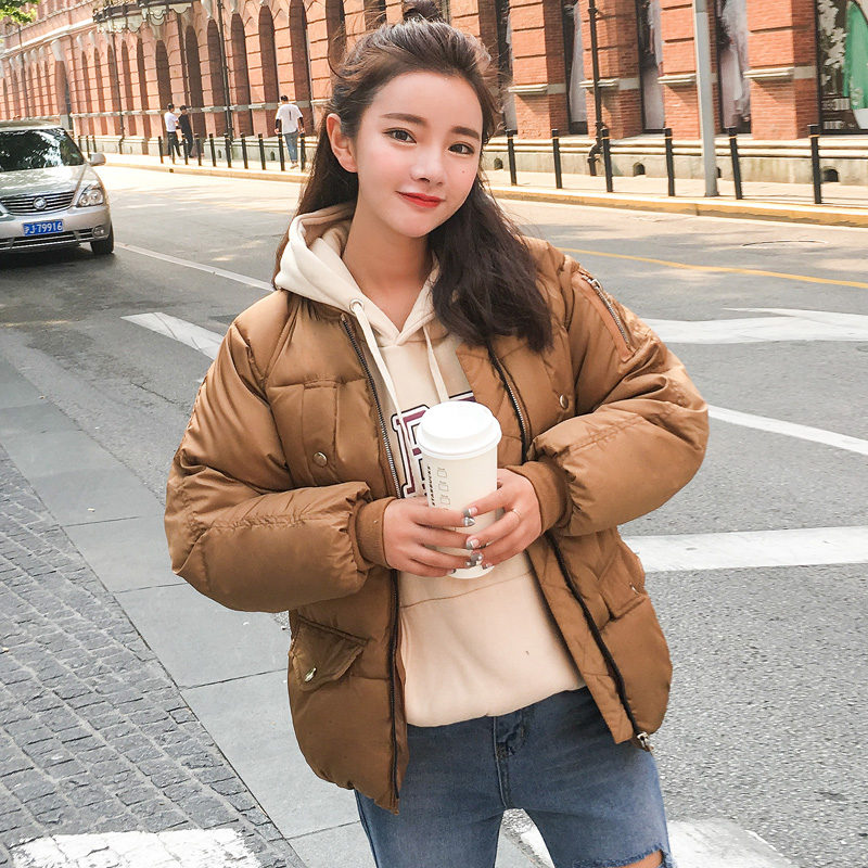 2017 Women Parkas Cotton-Padded Jacket Thick Winter Coat Woman Slim Female Outerwear Women Korean Coats And Jackets Girl clothes akslxdmmd large size winter coat women 2017 new mujer padded jackets and coats slim thick cotton long jacket coat parkas lh263