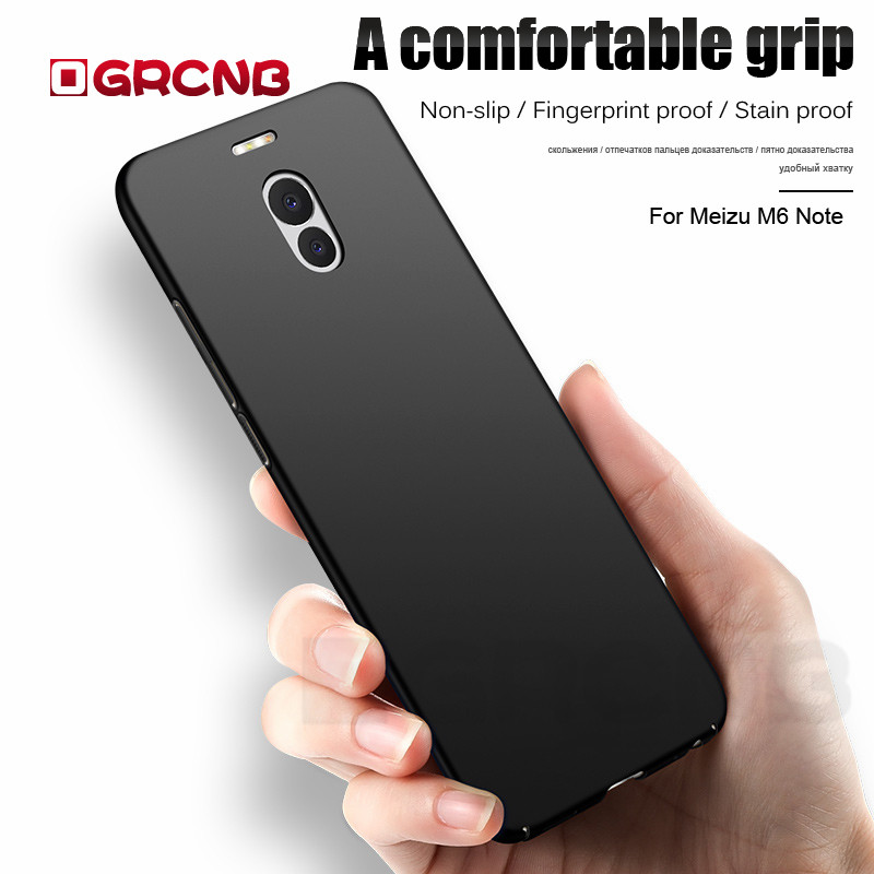 Luxury Matte Hard Case for Meizu M6 M5S M5 Pro 6 6s Case Plastic PC Full Cover Case For Meizu M5 M6 Note Pro 7 7 Plus Phone Case