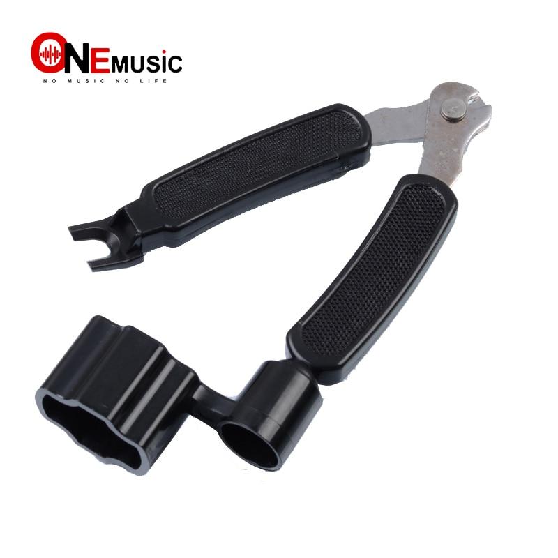 10pcs/20pcs 3 In 1 Guitar Peg String Winder + String Pin Puller + String Cutter Guitar Tool Set Multifunction Guitar Accessories