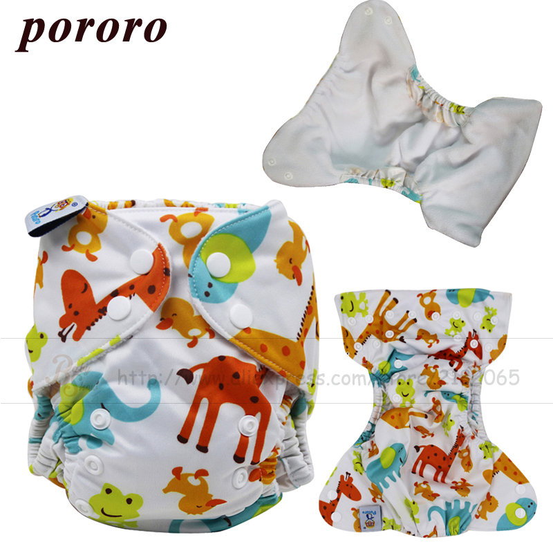 2017 New Arrival Newborn Baby Printed Cloth Diaper Outer Leakage Guarding Newborn Size Adjustable Cloth Diaper