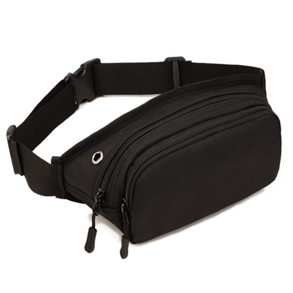 High Quality Waterproof Nylon Men Waist Belt Chest Bag Travel Hip Treckking Messenger Shoulder Military Assault Fanny Pack Bags