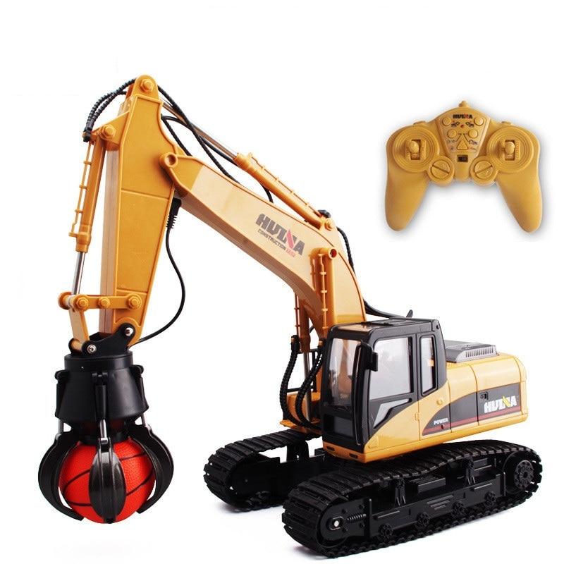 Hot Kids électrique RC jouet attraper une Machine à balles camion 571 2.4G 16CH balle receveur modèle sans fil télécommande ingénierie véhicule