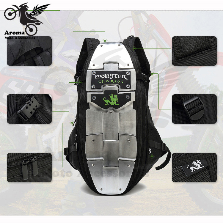 Большие размеры на открытом воздухе спортивные сумки мото багаж Грязь велосипед ямы инструмент мото rcycle сумка алюминиевый сплав антиколли