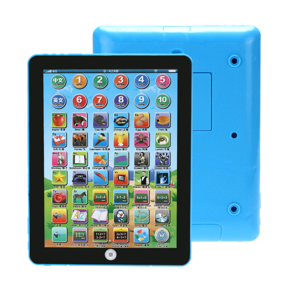 Modern Original Chinese English Language Educational Tablets Study Learning Machine Toy For Children kids Drop Shipping