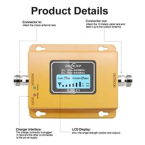 Image 2 - CDMA Repeater 850 MHz 70dB LCD 2G 3G 850 MHz UMTS GSM CDMA โทรศัพท์มือถือสัญญาณ Repeater Booster โทรศัพท์มือถือสัญญาณ CDMA