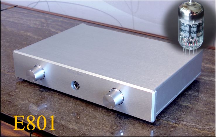 все цены на Finished E801 Class A EH 12AU7 tube preamp single-ended output HIFI Home Amplifier