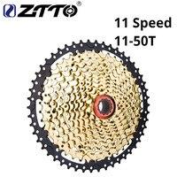 ZTTO 11 s 50 т SL черный золото MTB кассета горный велосипед Запчасти звездочки 11 11 В 22 s 11 Скорость выбеге K7 для XT X1 X01 X1