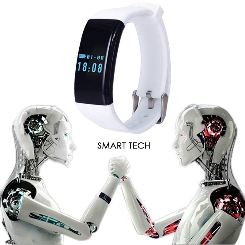ed7de254a064 Teamyo D21 deporte smartband impermeable DFIT fitness Tracker pedometer  pulsera ritmo cardíaco Monitores pulsera reloj en Pulseras inteligentes de  ...