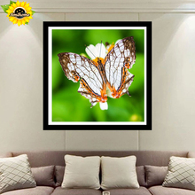 Aml Home full round Diamond Embroidery,butterfly,5D Diamond Painting,Cross Stitch,3D,Diamond Mosaic,home Decor,Christmas