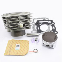 Motorcycle Cylinder Piston Ring Gasket Kit 72mm Bore For LIFAN CG300 CG 300 300cc UITRALCOLD Engine Spare Parts