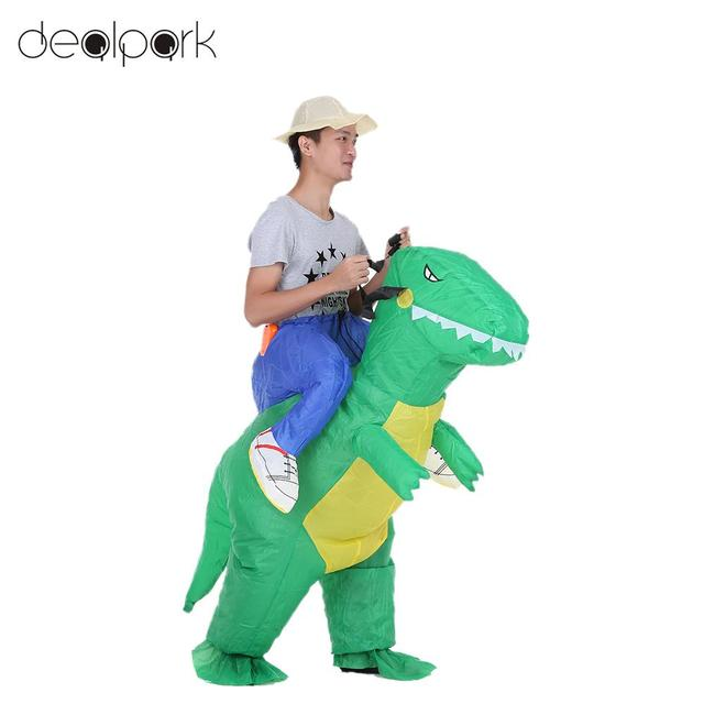 Cute Child Adult Inflatable Dinosaur Costume Suit Air Fan Operated Walking Fancy Dress Cosplay Party Outfit  sc 1 st  AliExpress.com & Cute Child Adult Inflatable Dinosaur Costume Suit Air Fan Operated ...