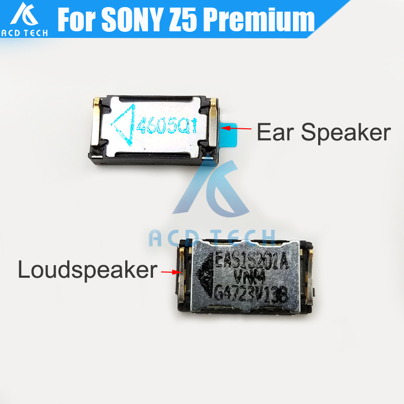 Original New For Sony Xperia Z5 Premium E6883 E6833 Loudspeaker Buzzer Ringer Ear Speaker With Waterproof Adhesive Glue Sticker