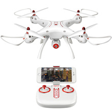 RC Drone SYMA X8SW dengan FPV Wifi HD Kamera, Berbagi Real-Time + 4G SD Card RC Helicopter Quadcopter Pesawat Remote Control