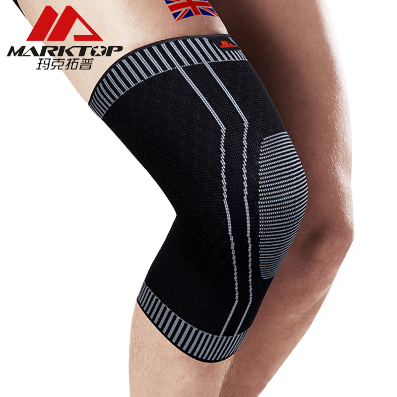 Marktop Sports Knee Pads Support Training Elastic Knee Support protect Sports Safety Running Cycling Knee Pad Sleeve 9011 ...