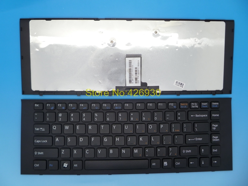Laptop Keyboard for Sony VPCEG VPC-Eg US Black with frame V081630A US/148969711 laptop keyboard for for sony vpc ea black without frame latin la v081678d 148792351