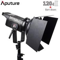 Aputure C120d II 120d II + Barn Door Kit 30,000Lux @ 0.5m 5 Lighting Effects CRI 96 TLCI 97 DMX Control 5500K Photographic Light