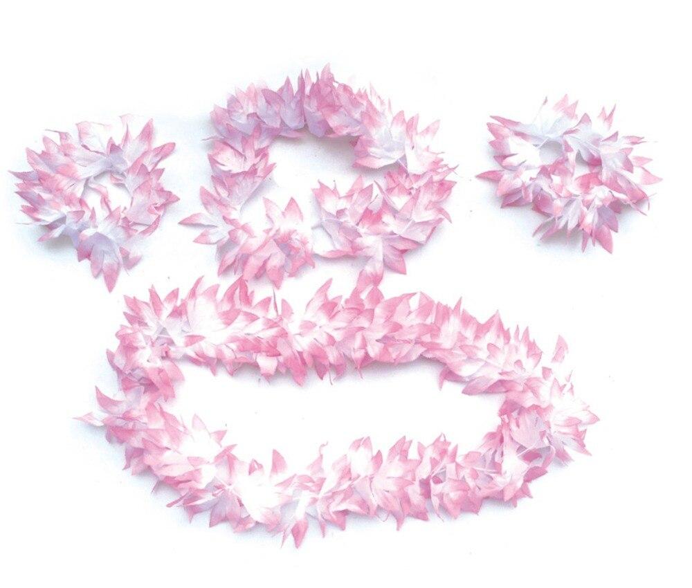 4pcsset hawaiian lei headbandhandband wedding garland hawaii 4pcsset hawaiian lei headbandhandband wedding garland hawaii plumeria flower lei in party favors from home garden on aliexpress alibaba group izmirmasajfo