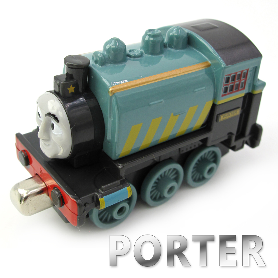 Diecasts Vehicles Thomas T106D PORTER Thomas And Friends Magnetic Tomas Truck Car Locomotive Engine Railway Train Toys for Boys