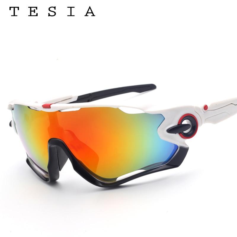 TESIA Markendesigner-Sonnenbrille-Mann-Spiegel-Gläser für das - Bekleidungszubehör - Foto 2