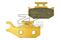 NEW Organic Brake Pads For Rear Left CAN AM SIDE X SIDE Maverick 1000 XRS DPS