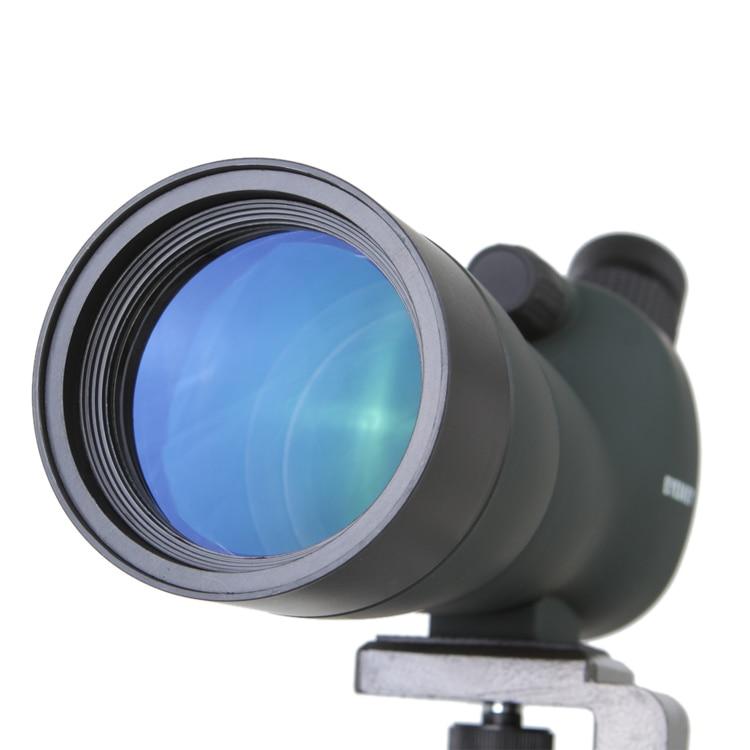 Cannocchiale telescopio Impermeabile Ad Angolo 20 60x60 Zoom Spotting Scopes con treppiede da tavolo camouflage/colore verde fast shipping - 4