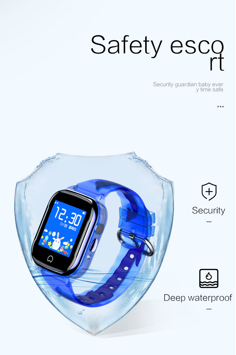 HTB1kCpBa2Bj uVjSZFpq6A0SXXan - K21 Smart GPS Watch Kids New IP67 Waterproof SOS Phone Kids Smart Watch Children Clock Fit SIM Card IOS Android Wristwatch