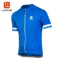 Nueva 7 Colores LONGAO Jersey Ciclismo Bicicleta de Manga Corta Camisa de la Tapa Ropa Bicicletas Sportwear ciclismo Jersey S-5XL Transporte Gratuito