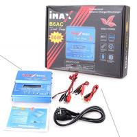 Build Power iMAX B6 AC B6AC 80W 6A Dual RC Balance Battery Charger Lipo Lipo Nimh Nicd Battery With Digital LCD Screen
