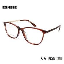 ESNBIE Eyewear Tr90 Glasses Frame WomenEyeglasses Designer Brand Eyeglass Frames For Women Trends Spectacles Occhiali