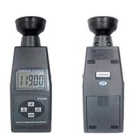 디지털 lcd 비접촉 플래시 스트로보 스코프 타코미터 광전 회전 측정기 속도계 테스터 60 ~ 40000 rpm