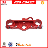 cnc aluminum motorcross motorcycles dirtbike top upper triple clamp tree for Honda crf 230 crf230 parts accessories