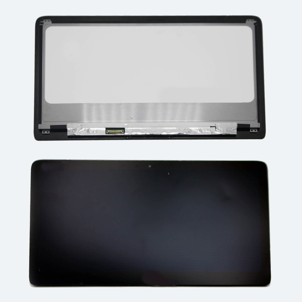 13.3 FHD LCD Display Screen assembly+Front Glass Replacement For HP Spectre 13-3010ea 13-3010eg