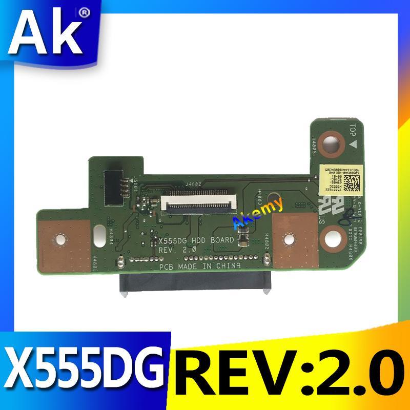 AK Asus の X555DG シリーズ HDD ボードハードディスクドライブボード X555DG REV: 2.0 60NB09A0 HD1040 100% テスト高速船  グループ上の パソコン & オフィス からの マザーボード の中 1