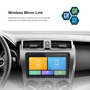 Image 4 - Podofo Radio samochodowe z androidem 9 2GB/1GB nawigacja GPS 2din Autoradio WIFI Bluetooth Stereo uniwersalny odtwarzacz multimedialny do VW Golf