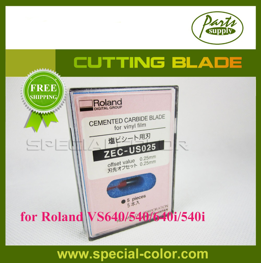 Roland VS640/540 Cutting Blade 45 Degrees Cutter Blade for VS540i/640i [ZEC-US025] roland standard cutting blade zec u1005 for printer